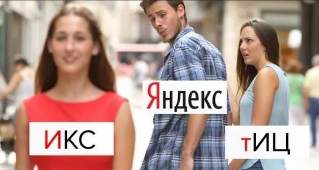 что такое Яндекс ИКС