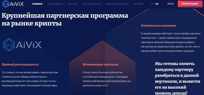 Партнерская программа Aivix.com