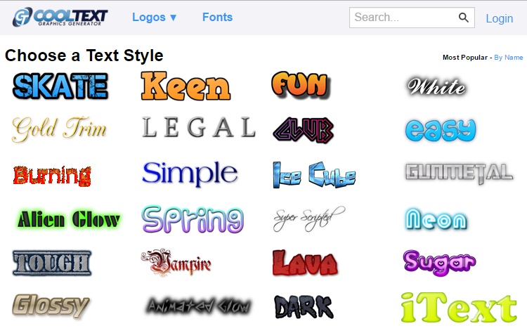 онлайн сервис для создания логотипа сайта