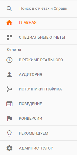 сервис Google Analytics
