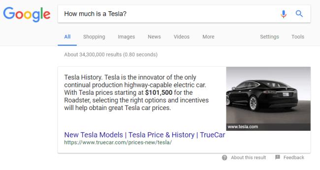 Featured Snippet - нулевая позиция в Гугле