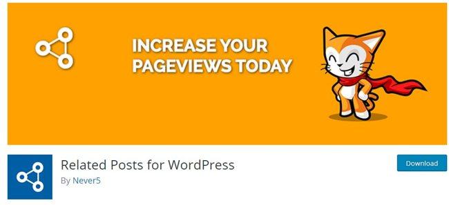 Плагин Related Posts for WordPress